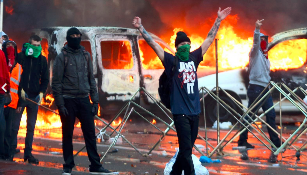 Brussels Riots 1